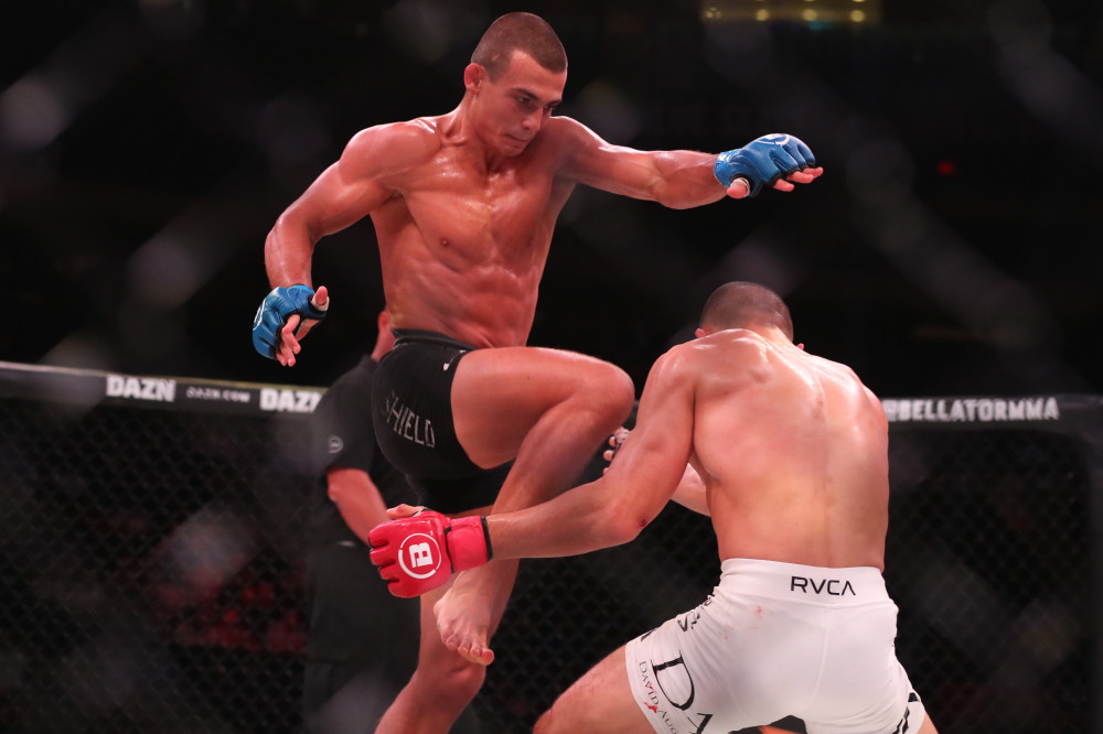 WATCH: Aaron Pico gets brutally knocked out by a flying knee! -