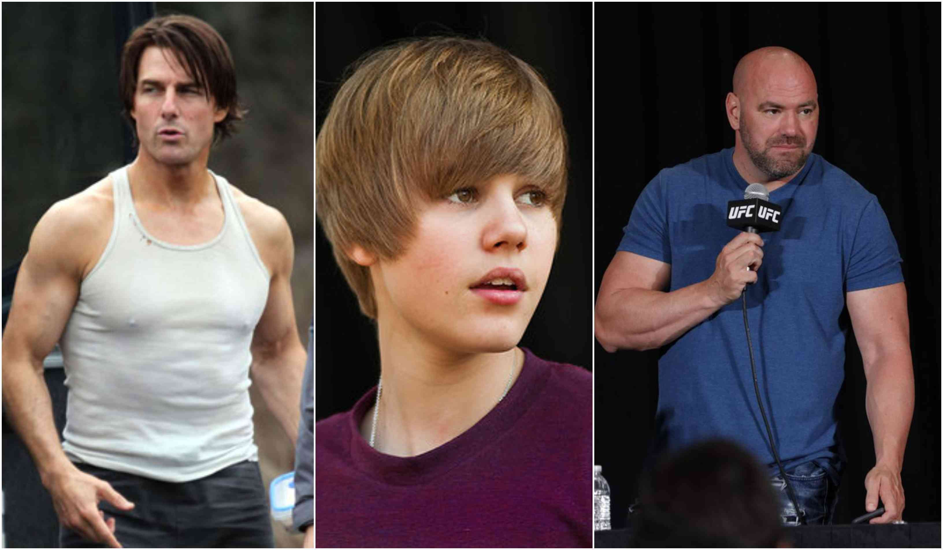 Dana White interested in promoting Justin Bieber vs Tom Cruise - Justin