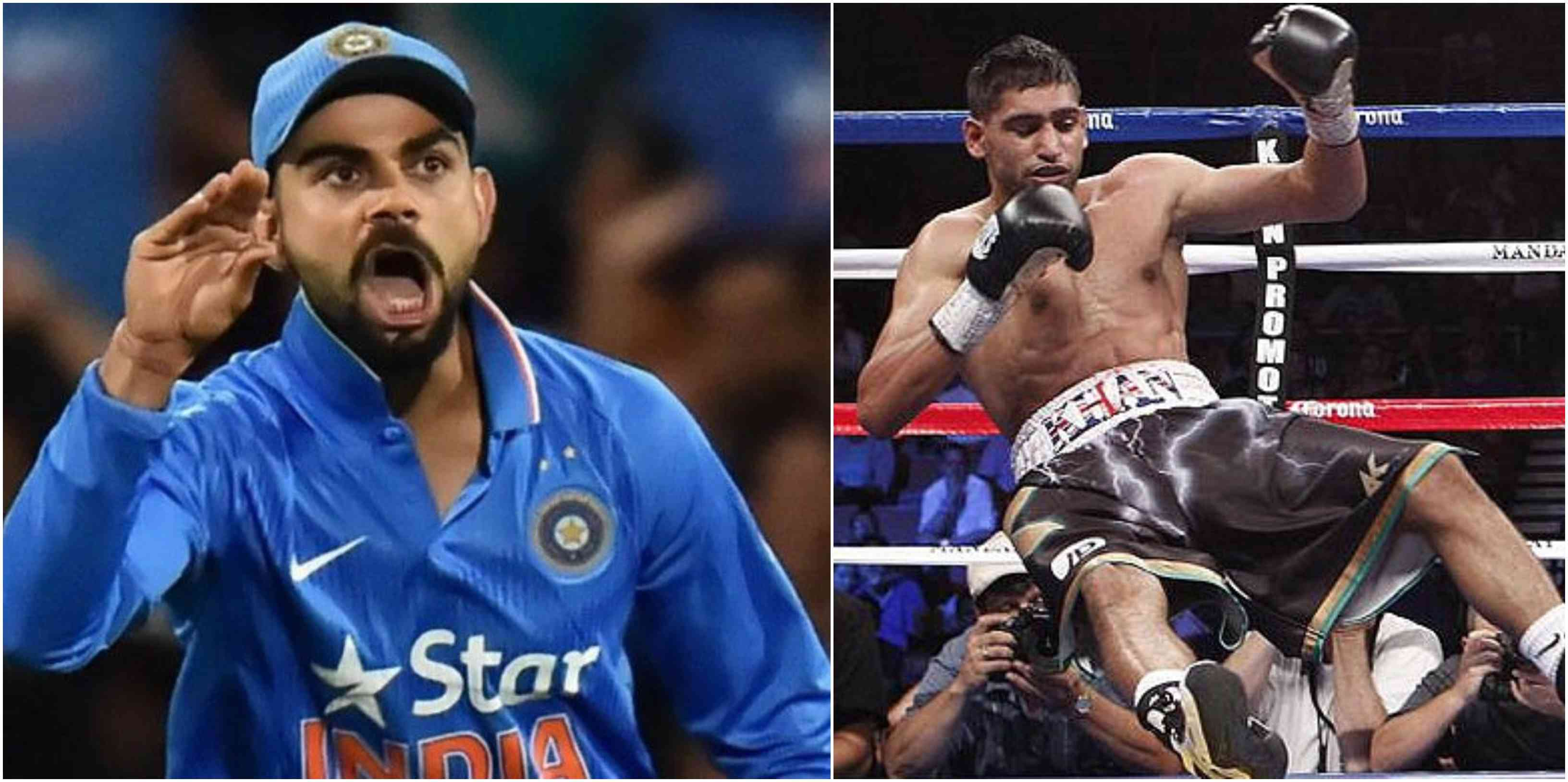 Amir Khan says he will avenge Pakistan's loss to India by knocking out Neeraj Goyat - India