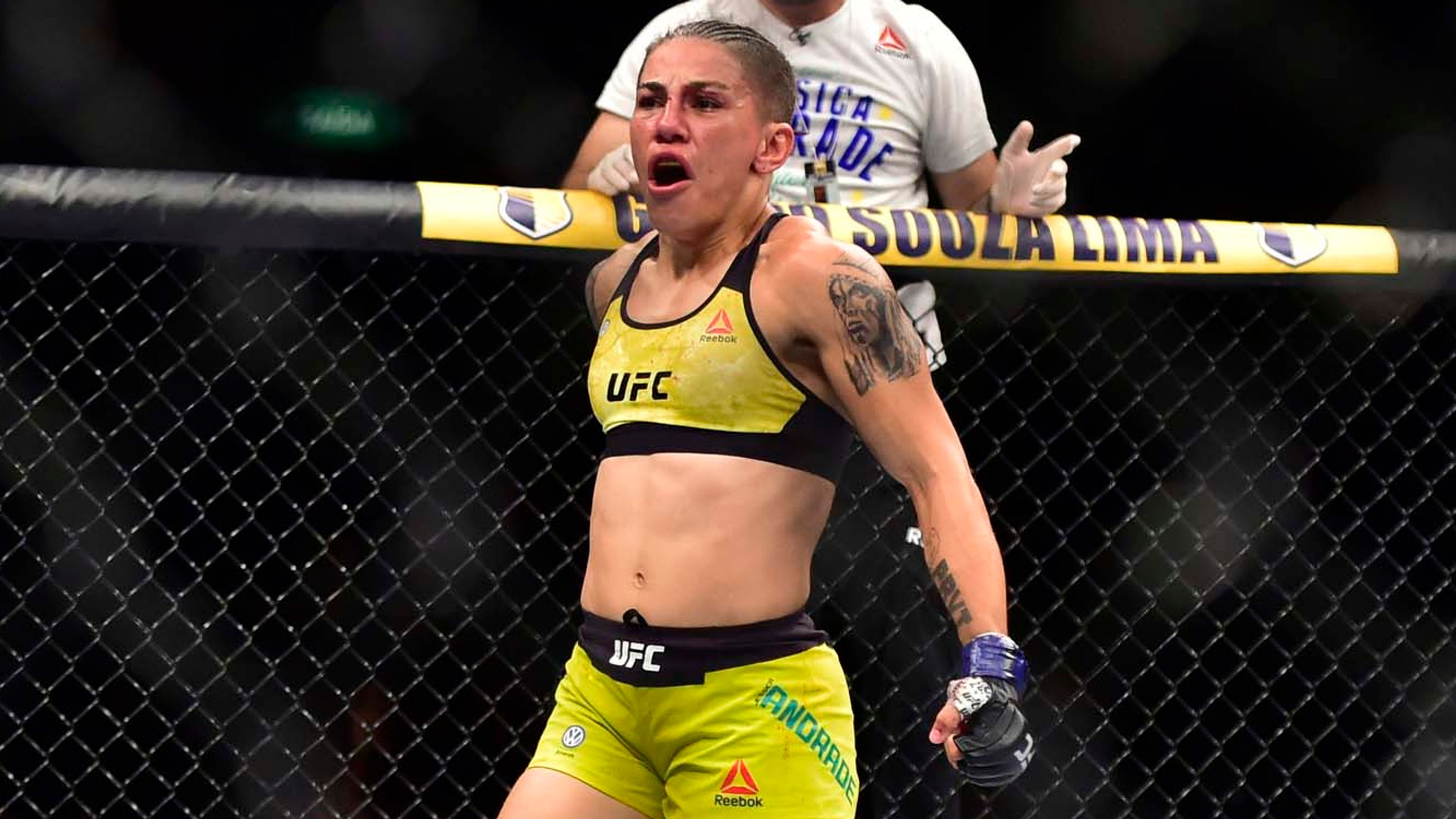 Jessica Andrade details how she was robbed at gunpoint - and why she didn't fight back - Andrade