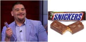 Heavyweight champion Andy Ruiz Jr could land a sweet deal with Chocolate brand 'Snickers' - Andy