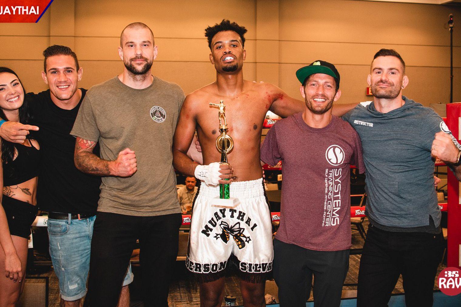 WATCH: Anderson Silva's Son wins Muay Thai debut via TKO -