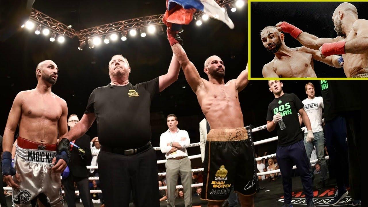 Lobov and Malignaggi bury beef after BKFC fight - Artem Lobov