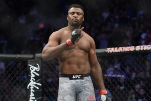 Twitter reacts to Francis Ngannou's devastating knockout win over JDS - Ngannou