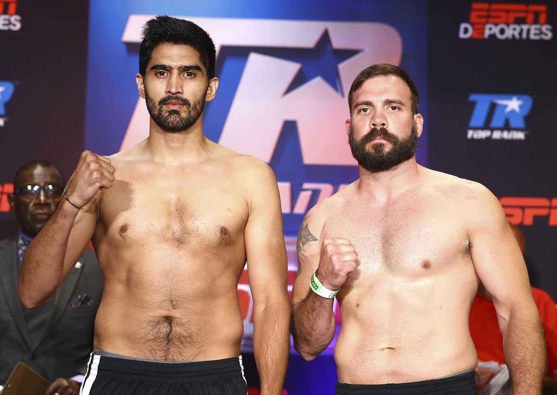 Vijender Singh vs Mike Snider - Where to watch, time, Channel - Singh
