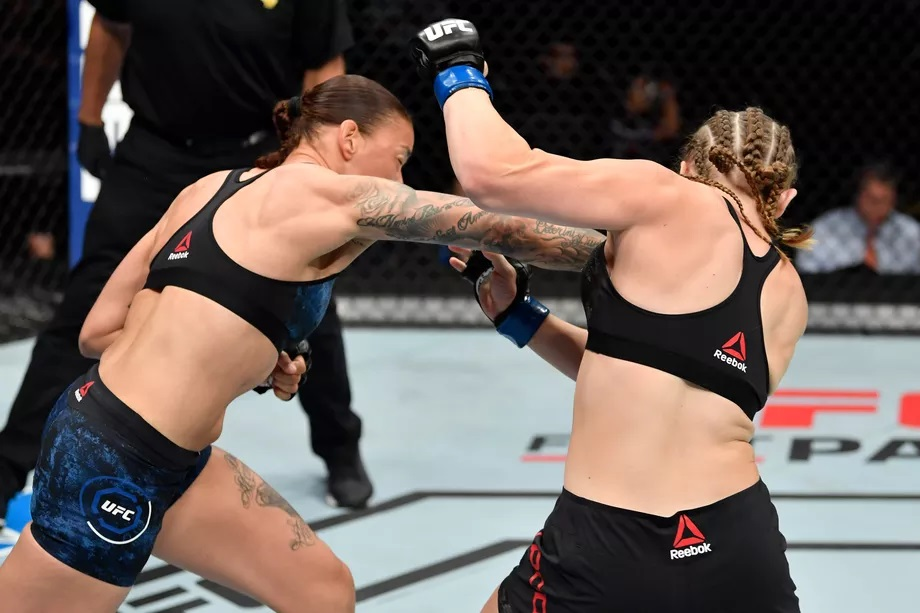 UFC Fight Night 155 Results - De Randamie Flattens Aspen Ladd in Just 16 secs of the First Round -