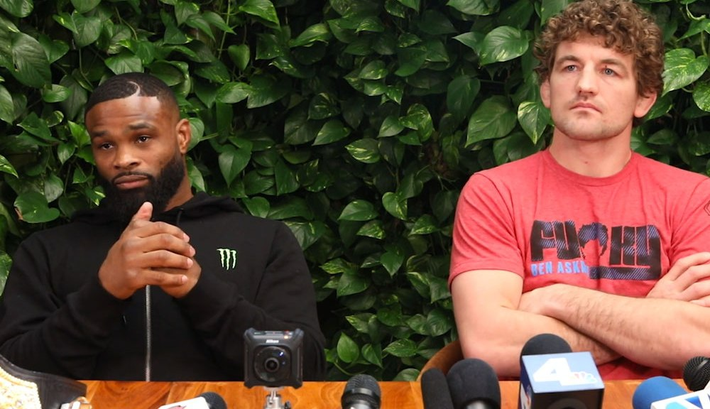Tyron Woodley reveals how Ben Askren will take his UFC 239 loss - Tyron Woodley