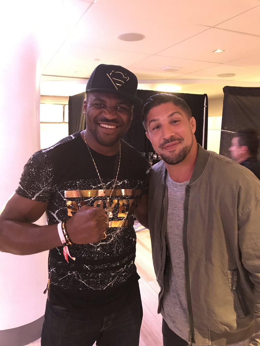 Brendan Schaub: JDS was scared to get hit by Ngannou -