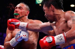 Manny Pacquiao defeats Keith Thurman to become the new WBA Welterweight Champion - Pacquiao