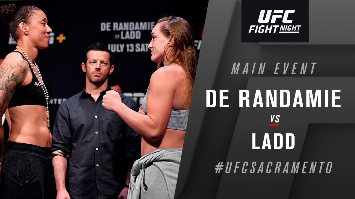UFC Fight Night 155 'De Randamie vs. Ladd' - Play by Play Updates & LIVE Results -