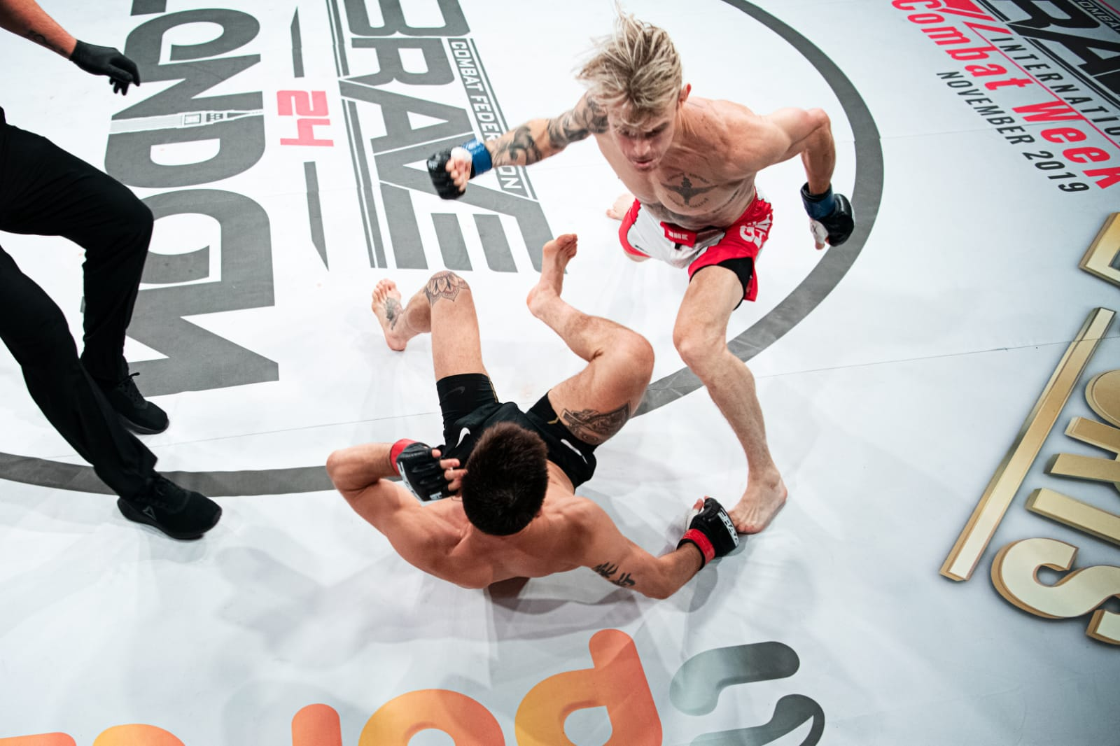Gierszewski and Else promise to take over after KO wins at BRAVE 24 -