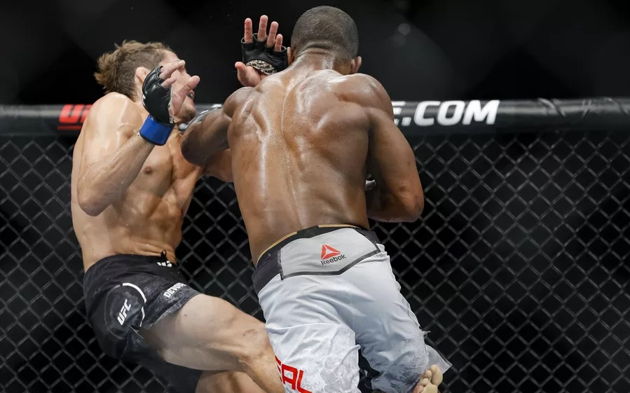 UFC 240 Results - Geoff Neals Ground and Pound Earns Him a TKO Win in Second Round -