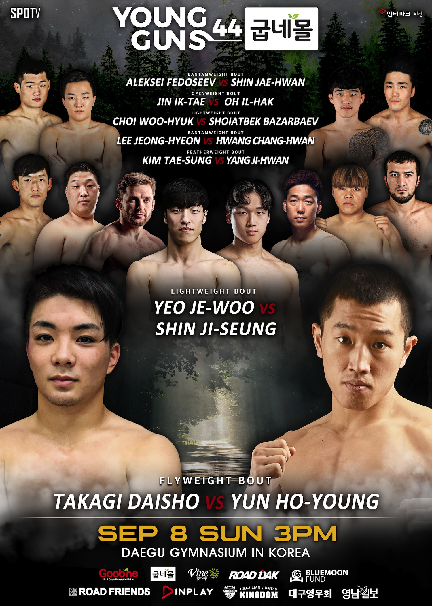 ROAD FC 055 ADDS CHRIS BARNETT VS SHIM GUN-OH AT OPENWEIGHT  FULL MATCHES LINE UP ANNOUNCED -