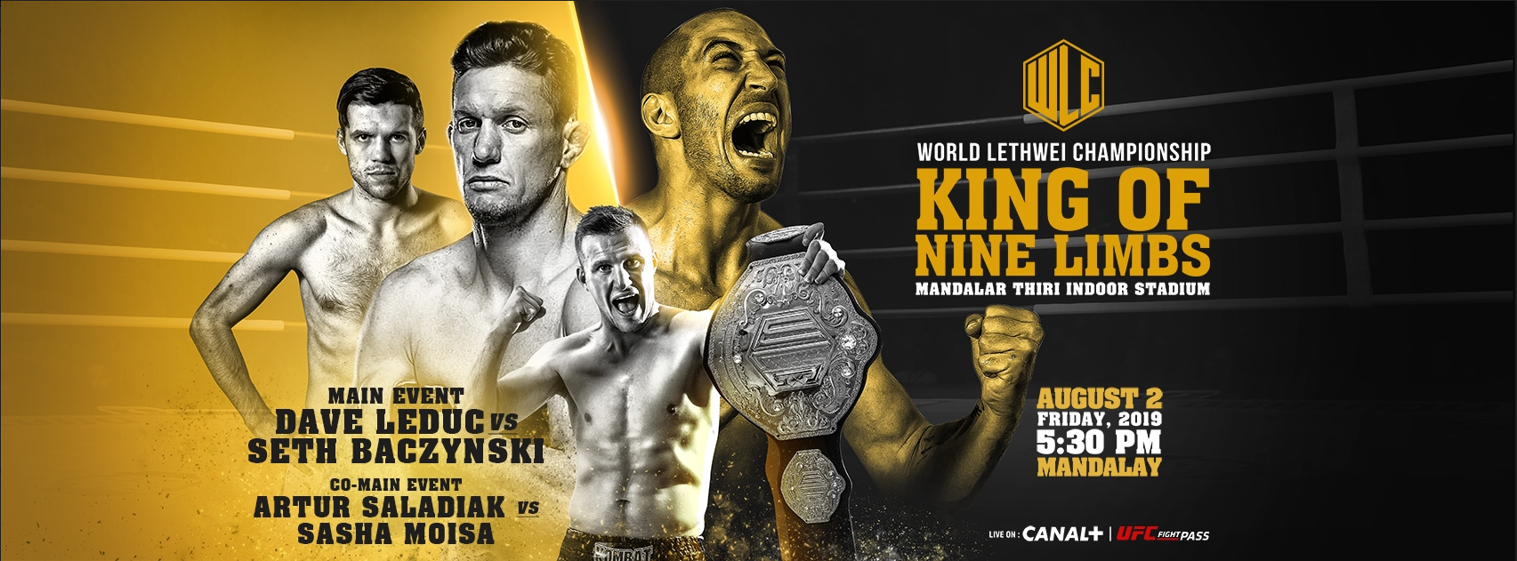 King of Nine Limbs comes to UFC Fight Pass this Friday -