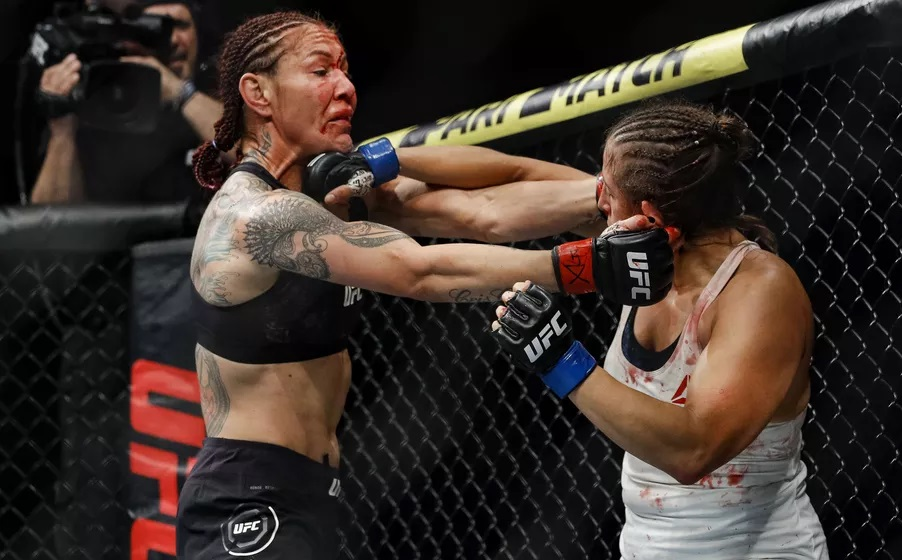 UFC 240 Results - Cris Cyborg Hands Felicia Spencer Her First Loss in a Dominant & Punishing Peformance -