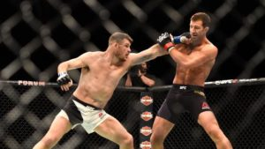 Michael Bisping on arch rival Luke Rockhold: He's done...but I'd like him to prove me wrong! - Rockhold