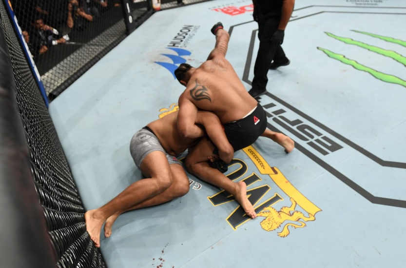 UFC on ESPN 4 Results - Greg Hardy Stops Juan Adams in First Round -