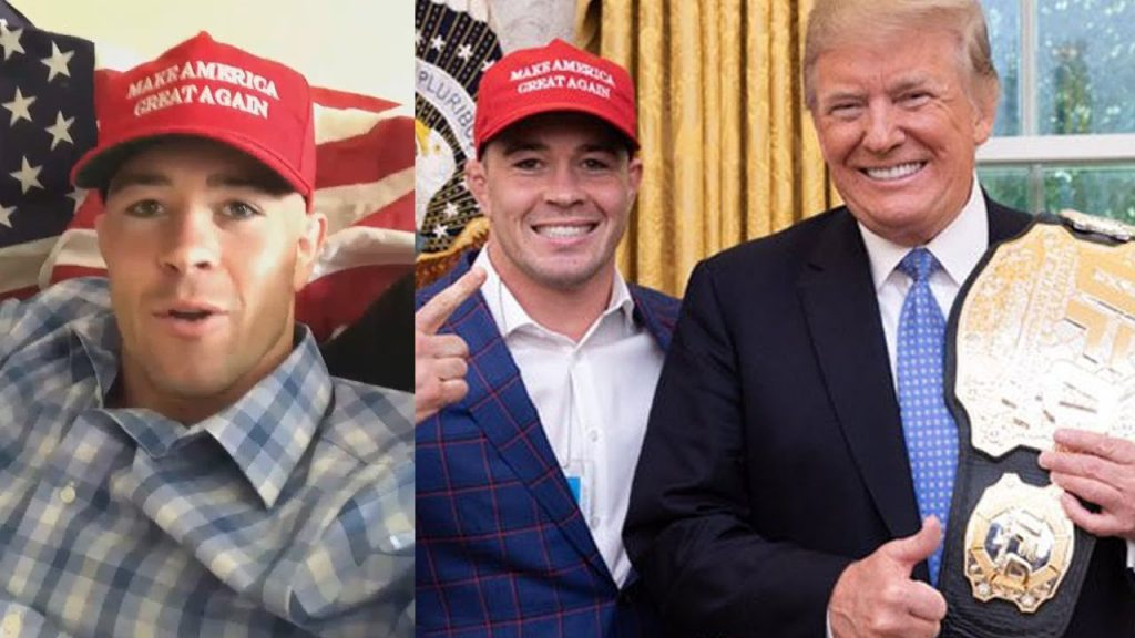 Colby Covington Confirms Donald Trump Jr. Will Attend UFC Newark - Covington