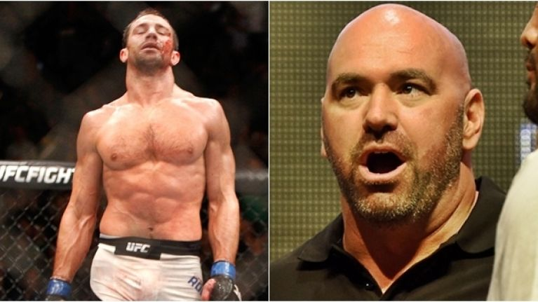Dana White wants to see Luke Rockhold retire from MMA - Rockhold