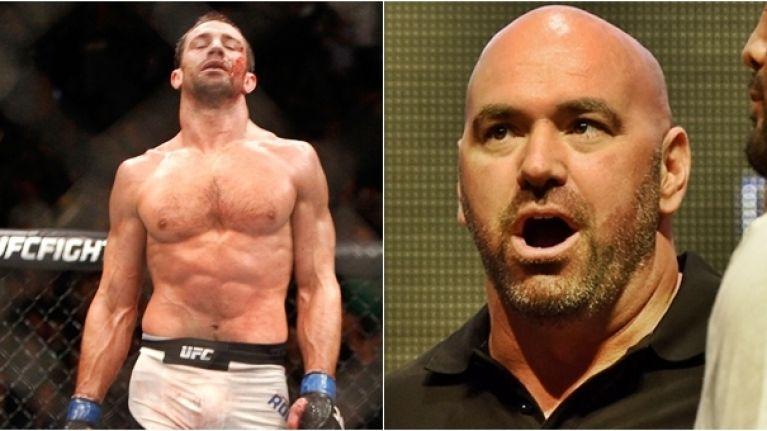 Dana White wants to see Luke Rockhold retire from MMA - Rockhold