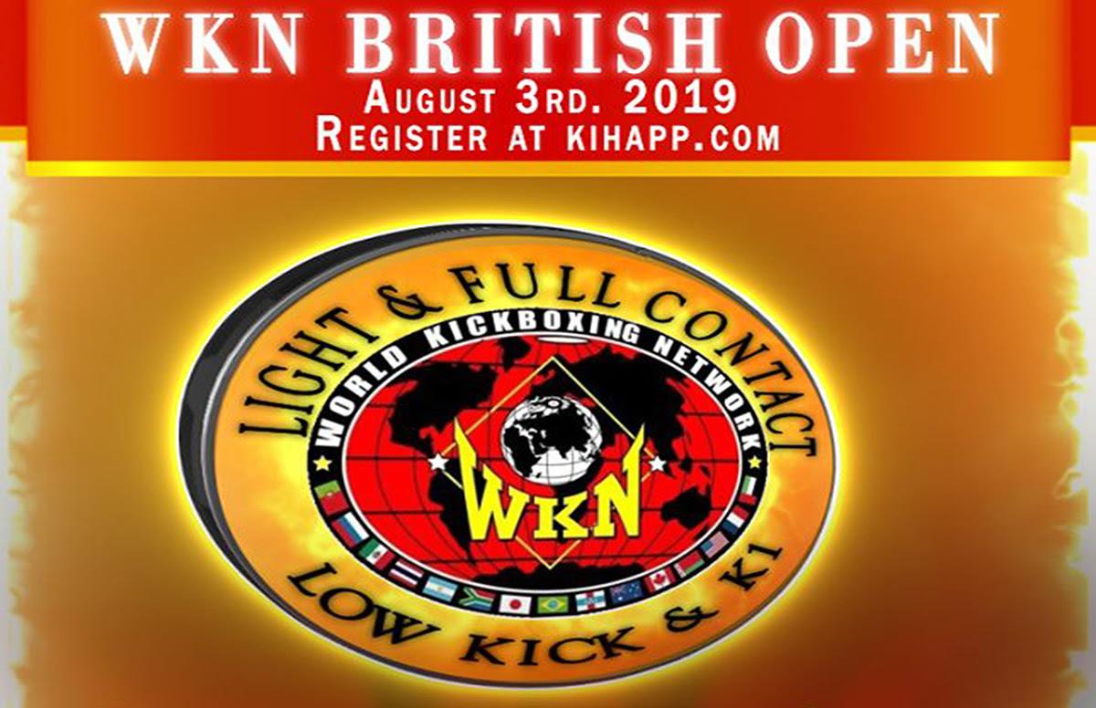 WKN British Open this Saturday in Fraserburgh, Scotland -