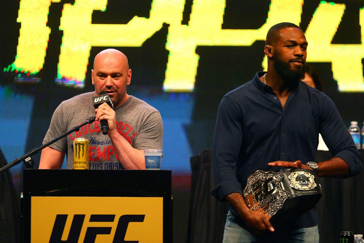 Dana White: Every Jon Jones fight could be his last - Jones