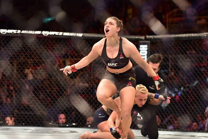 UFC: Mackenzie Dern cleared for Amanda Ribas fight by doctors after pregnancy - Dern