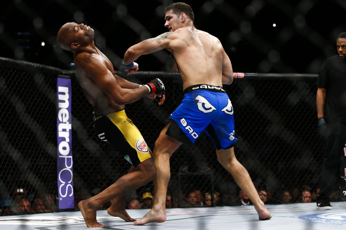 5 biggest upsets in MMA -