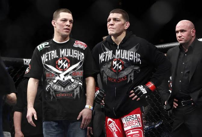 "UFC: Nate Diaz: ""My brother is responsible for everything I've ever done"" - Diaz"