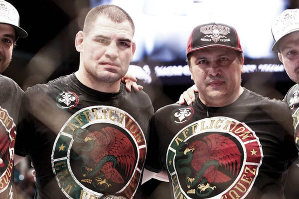 Cain Velasquez contemplating MMA future after 'becoming a natural' at pro wrestling - Cain