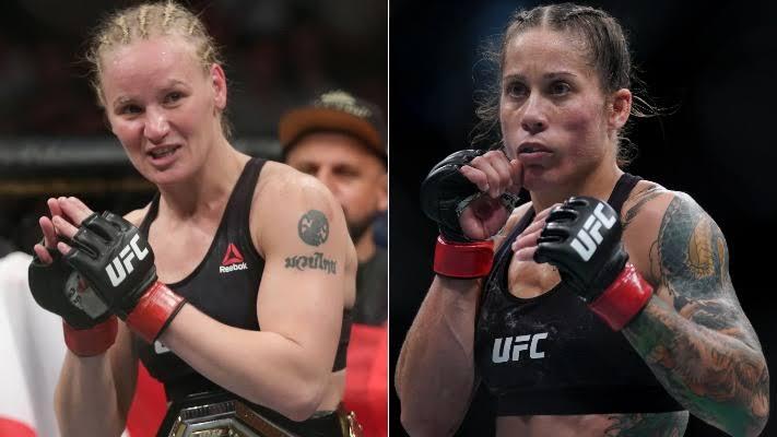 UFC: Valentina Shevchenko vs Liz Carmouche records third lowest significant strike count in UFC title fights - Shevchenko