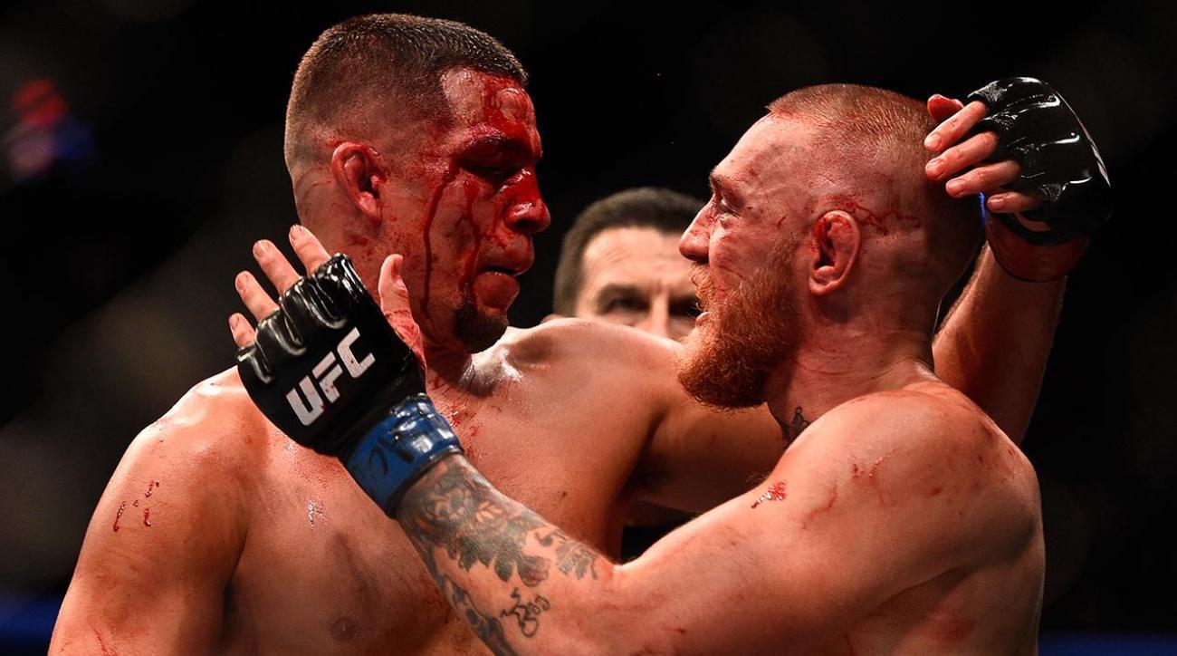 Conor McGregor praises Nate Diaz on 3 year anniversary of UFC 202 war - McGregor