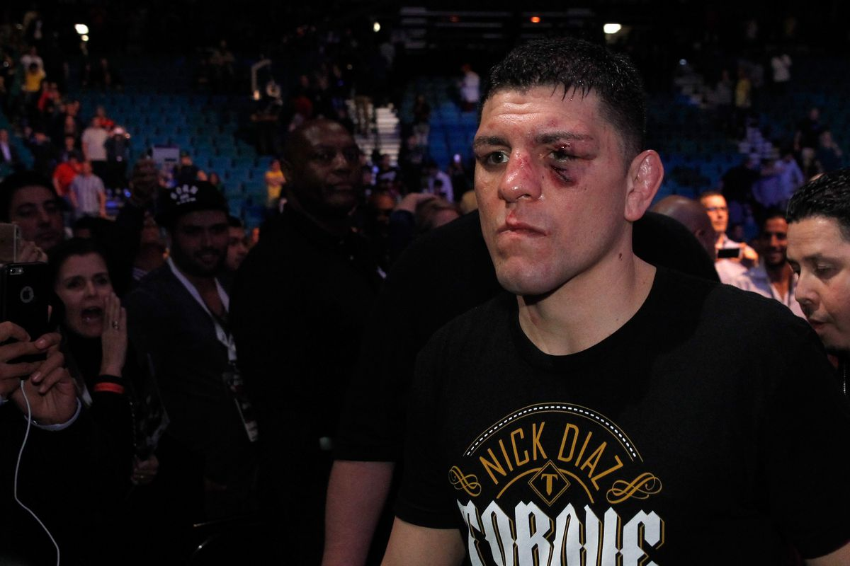 Nick Diaz to Colby Covington and GSP: Come at me! Step into my ring! - Diaz