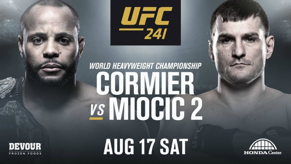 Watch UFC 241 featuring Daniel Cormier and Stipe Miocic -