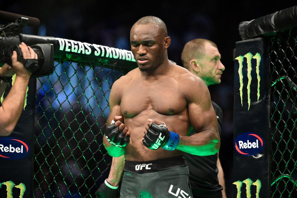 Kamaru Usman discusses 'four horse race' for a Welterweight title shot - Usman