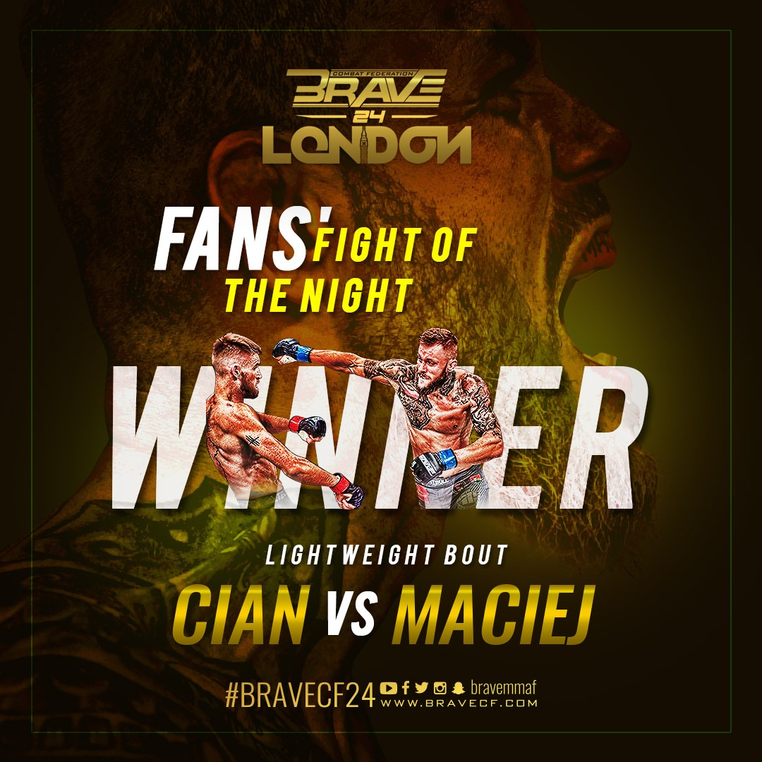 """""""Magic Man"""" vs """"The Warrior"""" elected Fight of the Night at BRAVE 24 -"""