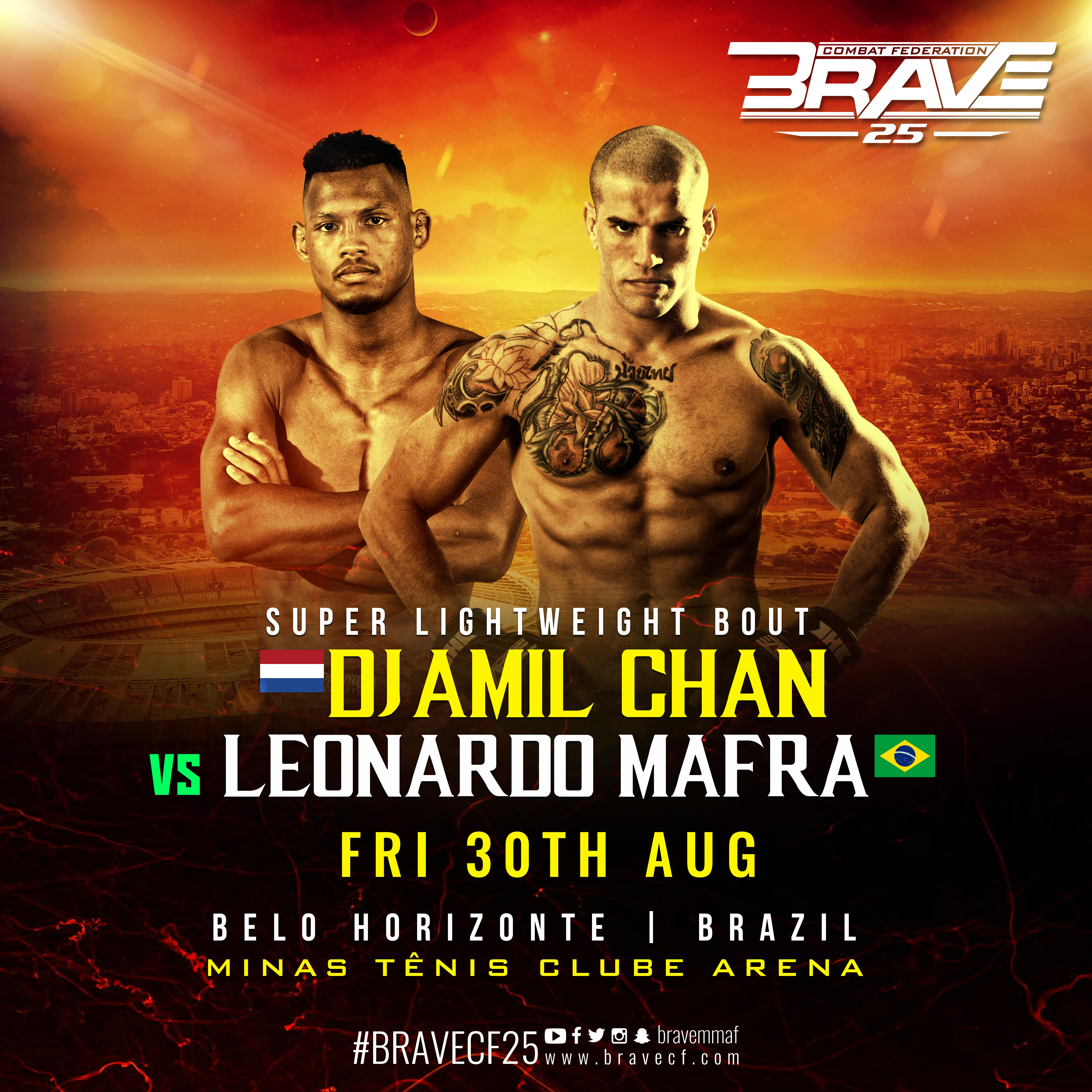 BRAVE 25's Macarrão: 'Creation of Super Lightweight is the best initiative in MMA' -