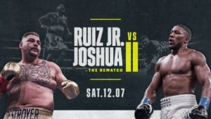 BREAKING: Anthony Joshua vs Andy Ruiz Jr rematch to take place on December 7 in Saudi Arabia - Joshua