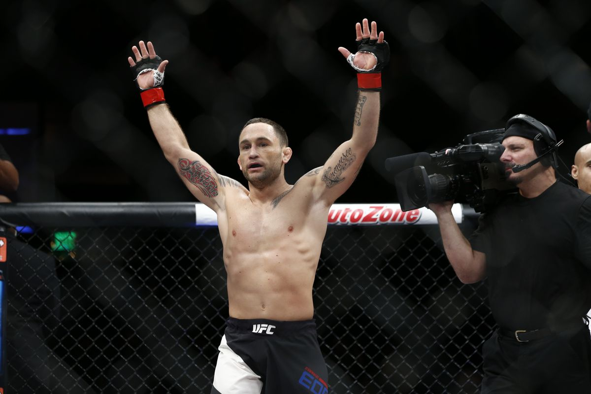 Frankie Edgar to Conor McGregor: Any weight, any time - Frankie Edgar
