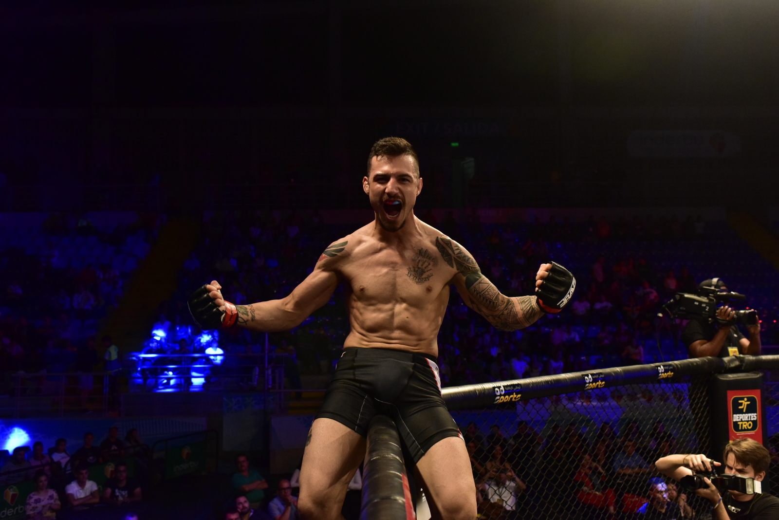 "Family man and warrior: the two sides of BRAVE 26's Gabriel ""Fly"" -"
