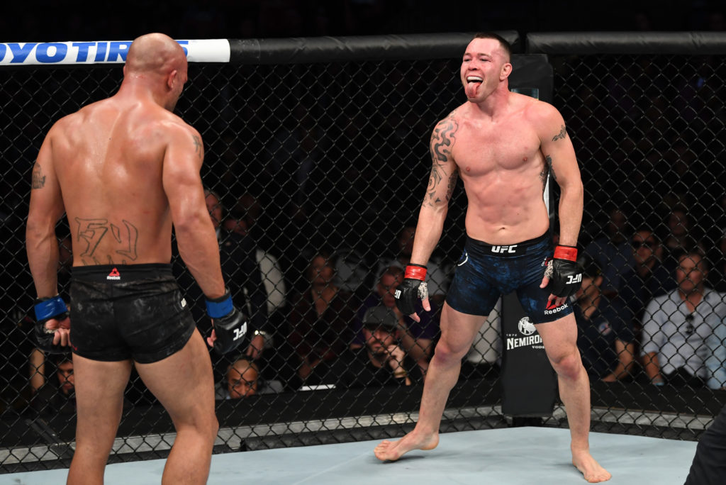 Twitter reacts to Colby Covington's dominant win over Robbie Lawler - Colby