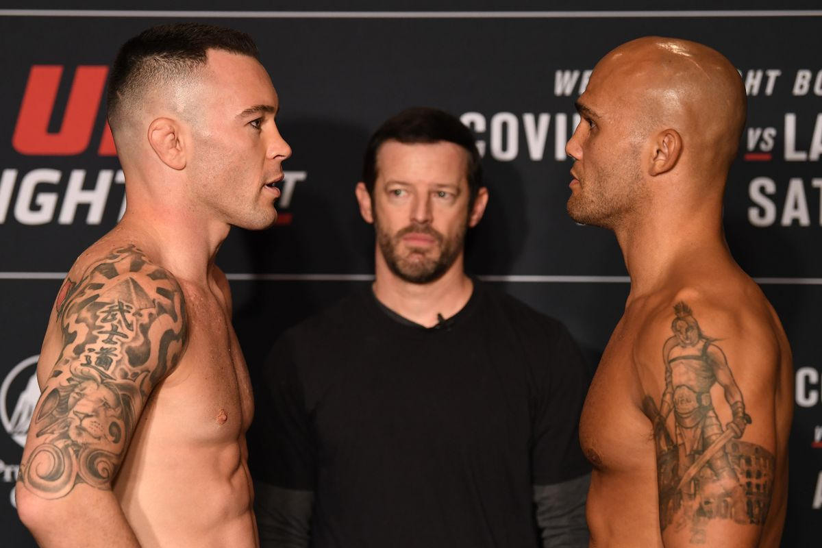 UFC on ESPN 5 'Covington vs. Lawler' - Play by Play Updates & LIVE Results -