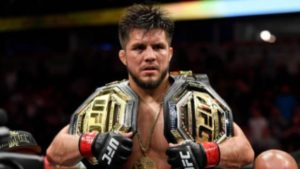 Former featherweight champion Jose Aldo wants a crack at Henry Cejudo's bantamweight belt. - Jose