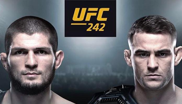 UFC 242: Khabib vs Poirier official poster surfaces -