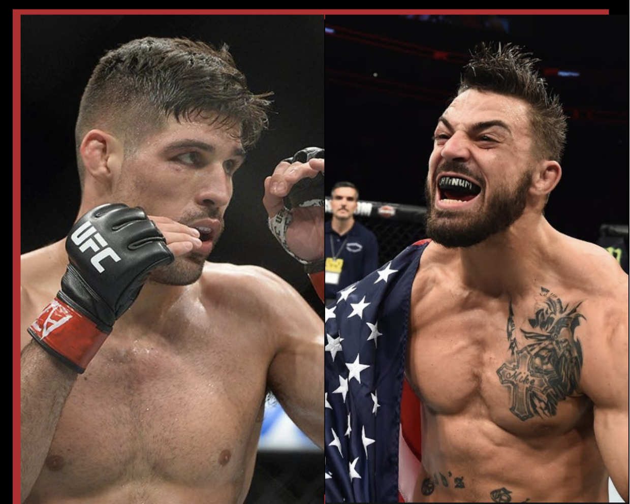Who wins this exciting Co-Main Event at UFC Uruguay -
