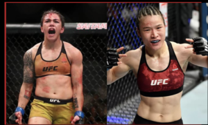 Twitter reacts to Weili Zhang's 42 second KNOCKOUT victory over Jessica Andrade - Zhang