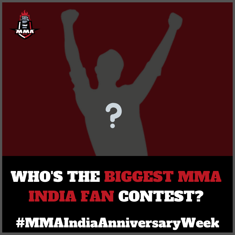 WHICH WAS THE FIRST INTERVIEW THE MMA INDIA SHOW COVERED ? -