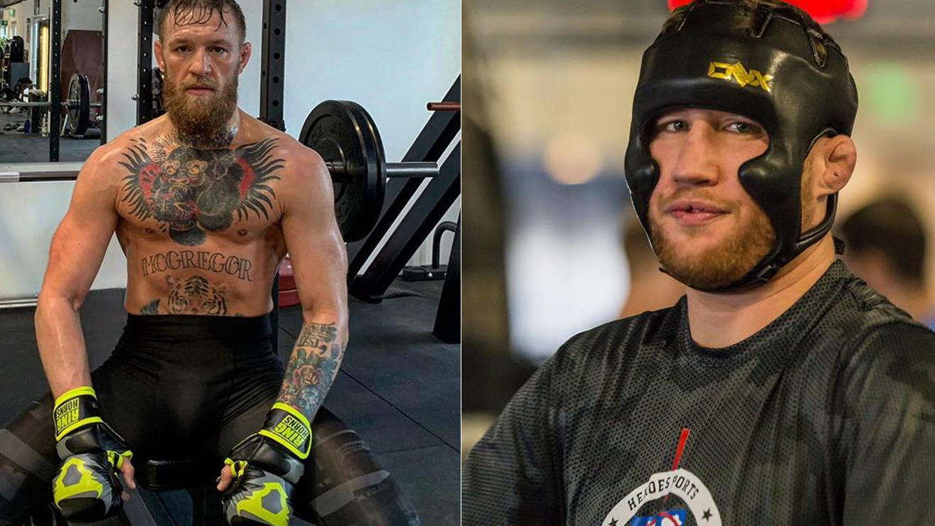 Conor McGregor reveals he was close to Justin Gaethje fight before hand injury - McGregor
