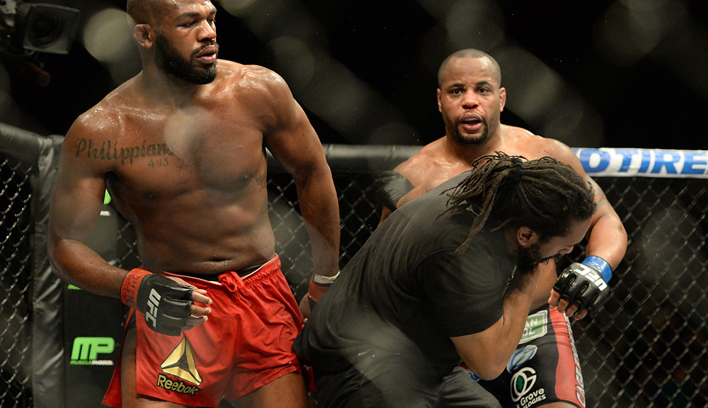 Jon Jones mocks Daniel Cormier on six-year anniversary of UFC 182 win: 'I am your superior' - Jones