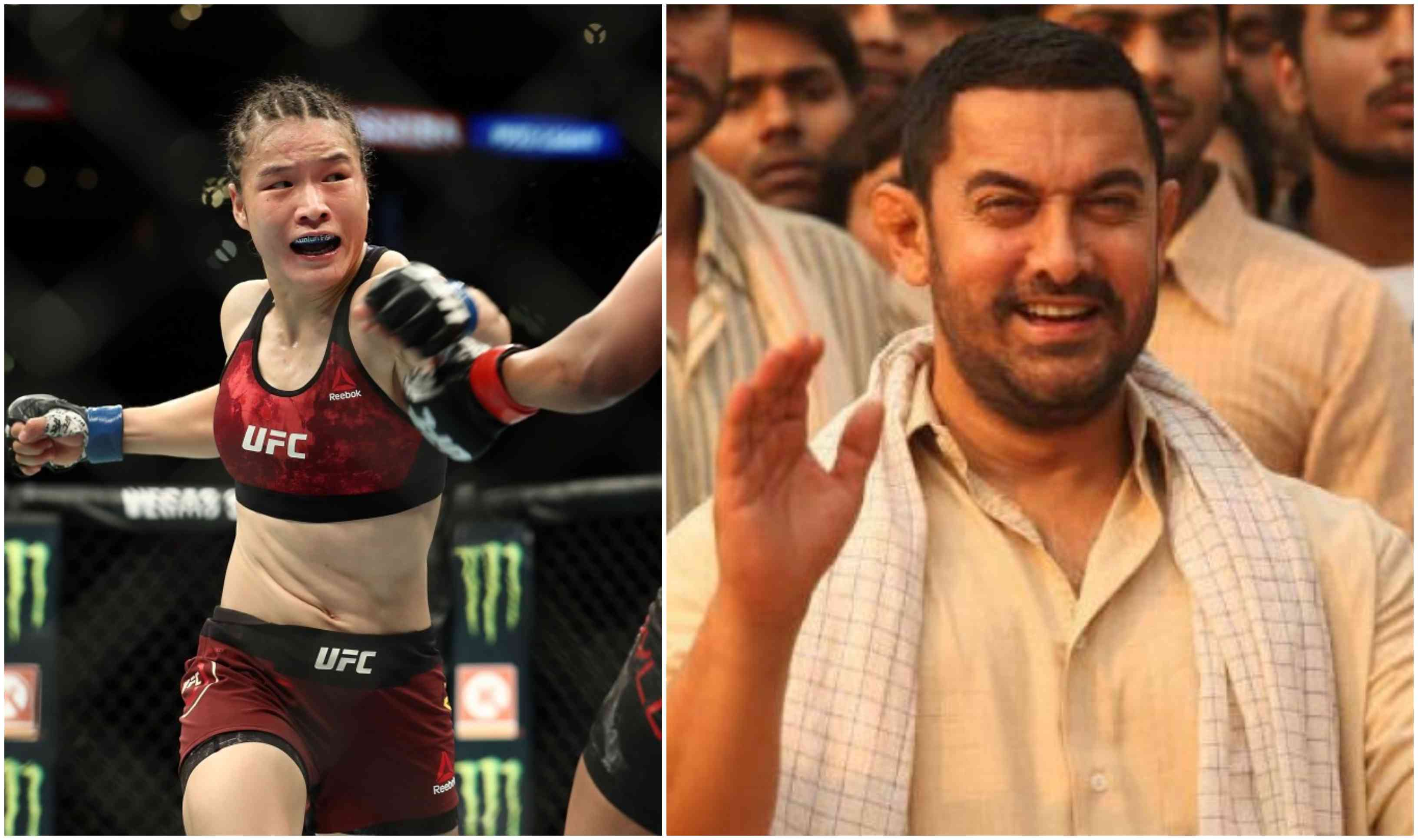 MMA India Exclusive: UFC title contender Weili Zhang professes her love for Aamir Khan's Dangal - Zhang